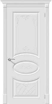 Межкомнатная дверь Эмаль Skinni 20 Art  Whitey - фото 10067
