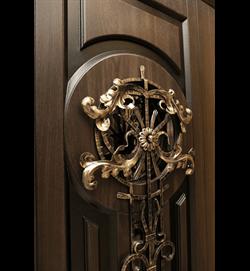 Входная металлическая дверь в дом уличная Vizantiya - фото 10132