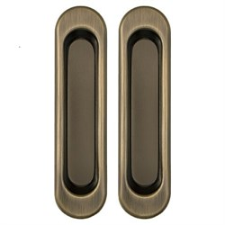 Ручки для раздвижных дверей PUNTO Soft LINE SL-010 AB Античная бронза - фото 10900