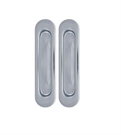 Ручки для раздвижных дверей ARMADILLO SH010-СP-8 хром - фото 10915