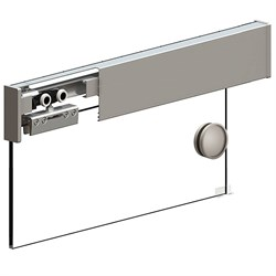 Раздвижная система Herkules Glass 2000 Серебро - фото 11251