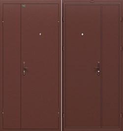 """Дверь входная металлическая Оптим """"Дуо Гранд"""" Антик Медь - фото 11459"""