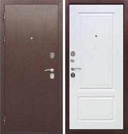 Входная металлическая дверь в квартиру Толстяк Белый Ясень - фото 11610