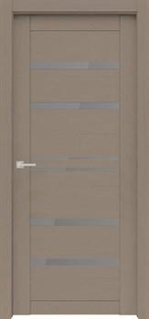 Межкомнатная дверь Экошпон ВЕЛЮКС 1 ЯСЕНЬ серая - фото 11672