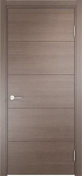 Межкомнатная дверь Экошпон ТУРИН 01 серая - фото 11679