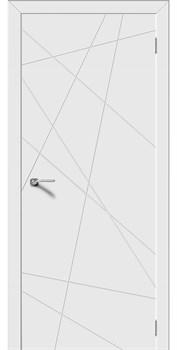 Межкомнатная дверь Эмаль ВЕКТОР серая - фото 11682