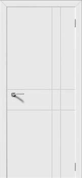 Межкомнатная дверь Эмаль ГЕОМЕТРИЯ серая - фото 11685