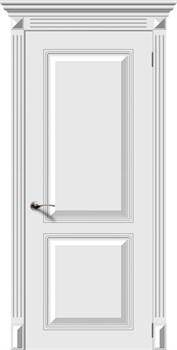 Межкомнатная дверь Эмаль БЛЮЗ глухая серая - фото 11700