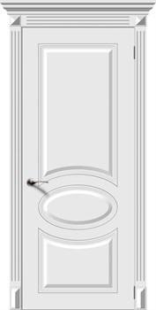 Межкомнатная дверь Эмаль ДЖАЗ глухая серая - фото 11706