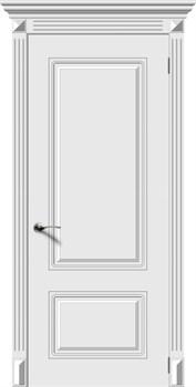 Межкомнатная дверь Эмаль НОКТЮРН глухая серая - фото 11712