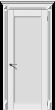 Межкомнатная дверь Эмаль ГАРМОНИЯ-Н со стеклом серая - фото 11729