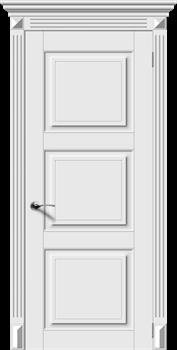 Межкомнатная дверь Эмаль СИМФОНИЯ-Н глухая серая - фото 11738