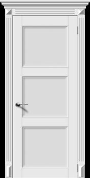 Межкомнатная дверь Эмаль СИМФОНИЯ-Н со стеклом серая - фото 11746