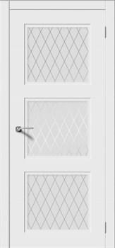 Межкомнатная дверь Эмаль СОНАТА-Н со стеклом серая - фото 11750