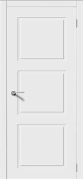 Межкомнатная дверь Эмаль СОНАТА-Н глухая серая - фото 11753