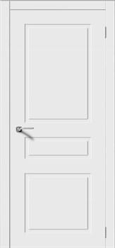 Межкомнатная дверь Эмаль ТРИО-Н глухая серая - фото 11765