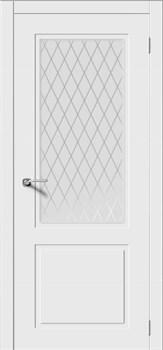 Межкомнатная дверь Эмаль НОКТЮРН-Н со стеклом серая - фото 11771