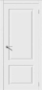 Межкомнатная дверь Эмаль КВАДРО 2 глухая серая - фото 11780