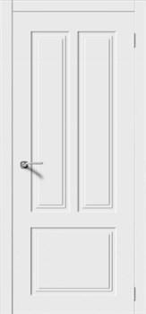 Межкомнатная дверь Эмаль КВАДРО 3 глухая серая - фото 11786