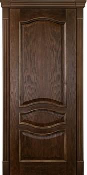 Межкомнатная дверь шпонированная АЛИНА-2 глухая размер до 2400 - фото 12338