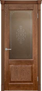 Межкомнатная дверь шпонированная ШЕРВУД со стеклом размер до 2400 - фото 12348