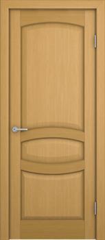 Межкомнатная дверь шпонированная СИЕНА глухая размер до 2400 - фото 12359