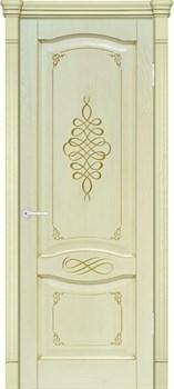 Межкомнатная дверь шпонированная НАПОЛИ 3D размер до 2400 - фото 12373
