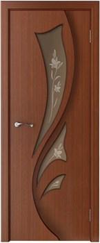 Межкомнатная дверь шпон стандарт ЛИДИЯ со стеклом размер до 2400 - фото 12400