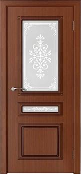 Межкомнатная дверь шпон стандарт СТИЛЬ со стеклом размер до 2400 - фото 12435