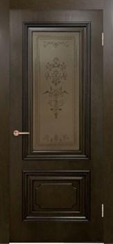 Межкомнатная дверь шпонированная ДУБ ВЕРСАЛЬ со стеклом размер до 2400 - фото 12457