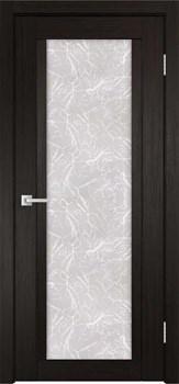 Межкомнатная дверь Экошпон К-11 со стеклом - до 2400 высота - фото 12684