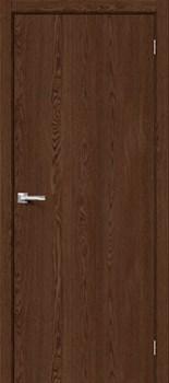 Межкомнатная дверь Браво-0 Brown Dreamline - до 2400 высота - фото 12996