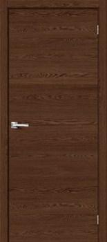 Межкомнатная дверь Браво-0 Brown Skyline - до 2400 высота - фото 12997