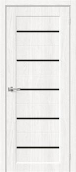Межкомнатная дверь Экошпон Мода-22 Black Line White Dreamline - до 2400 высота - фото 12998