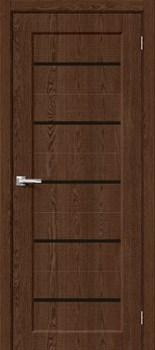 Межкомнатная дверь Экошпон Мода-22 Black Line Brown Dreamline - до 2400 высота - фото 12999