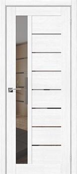 Межкомнатная дверь Экошпон Порта-27 Mirox Grey - до 2400 высота - фото 13052