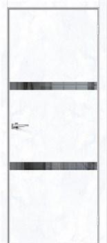 Межкомнатная дверь Экошпон Порта-55 4AF Mirox Grey - до 2400 высота - фото 13092