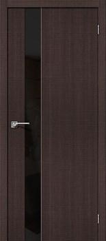 Межкомнатная дверь Экошпон Порта-51 BS Black Star - до 2400 высота - фото 13114