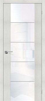Межкомнатная дверь Экошпон V4 WW - до 2400 высота - фото 13245