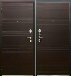 Входная металлическая дверь в квартиру SD PROF-36 ФОРТУНА Венге - со звукоизоляцией - фото 13322