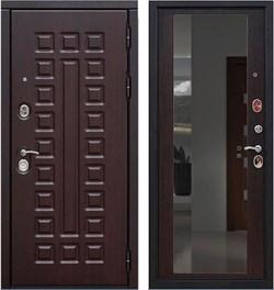 Входная металлическая дверь в квартиру SD PROF-5 СЕНАТОР ЗЕРКАЛО - со звукоизоляцией - фото 13323
