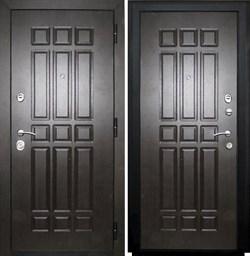 Входная металлическая дверь в квартиру SD Prof-5 Сенатор Венге - со звукоизоляцией - фото 13330