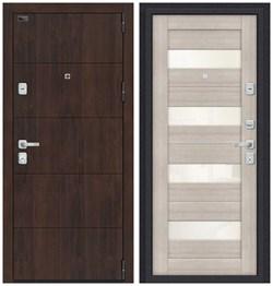 Входная металлическая дверь Porta M 4.П23 Almon 28/Cappuccino Veralinga - со звукоизоляцией - фото 13337