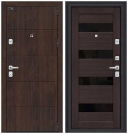 Входная металлическая дверь Porta M 4.П23 Almon 28/Wenge Veralinga - со звукоизоляцией - фото 13343