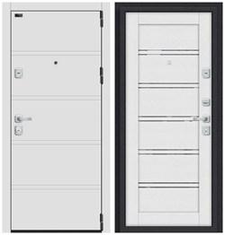 Входная металлическая дверь Porta M 8.Л28 White Stark/Virgin - со звукоизоляцией - фото 13349