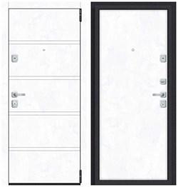 Входная металлическая дверь Porta M 8.П50 Snow Art/Snow Art - со звукоизоляцией - фото 13361