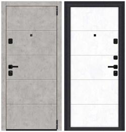 Входная металлическая дверь Porta M 4.4 Grey Art/Snow Art - со звукоизоляцией - фото 13362