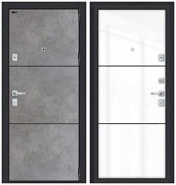 Входная металлическая дверь Porta M П50.П50 (AB-4) Dark Concrete/Angel - со звукоизоляцией - фото 13370