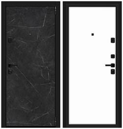 Входная металлическая дверь Porta M П50.П50 Black Stone/Silky Way - со звукоизоляцией - фото 13380