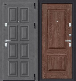 Дверь входная металлическая «Porta M-3 К18/K12» Rocky Road/Chalet Grande - со звукоизоляцией - фото 13384